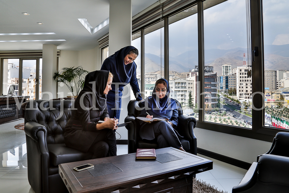Iranian female managers